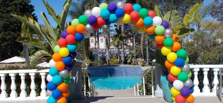 Balloon Arches Balloon Columns San Diego